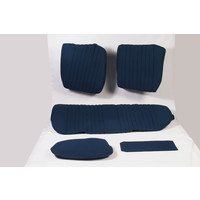 Rear bench cover pallas from from 69 blue cloth Citroën ID/DS