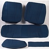 ID/DS Rear bench cover pallas 70-73 blue cloth Citroën ID/DS