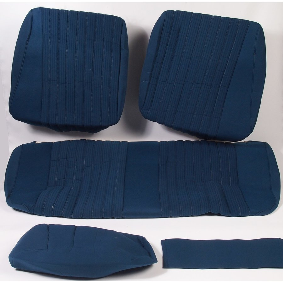 Rear bench cover pallas 70-73 blue cloth Citroën ID/DS-1