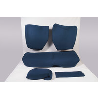 Rear bench coveruperpecial blue cloth Citroën ID/DS