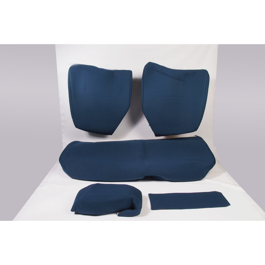 Rear bench coveruperpecial blue cloth Citroën ID/DS-1