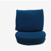 ID/DS Front seat cover old model blue cloth Citroën ID/DS