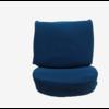 ID/DS Satz für Vordersitzbezug Stoff-bezogen blau Citroën ID/DS