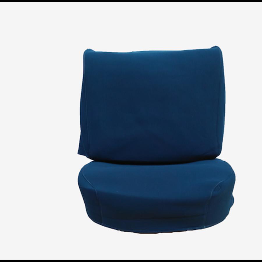 Satz für Vordersitzbezug Stoff-bezogen blau Citroën ID/DS-1