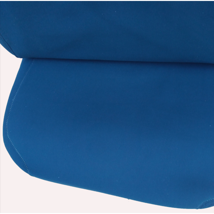 Front seat cover old model blue cloth Citroën ID/DS-3