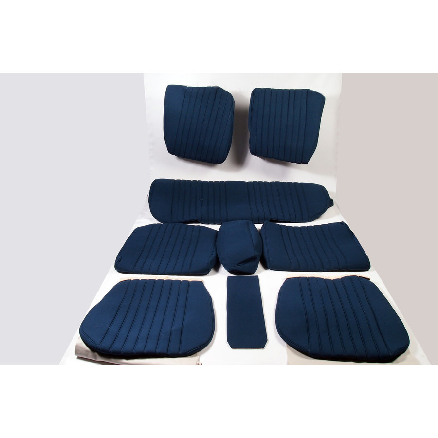 Set of seat covers for 1 car pallas from 69 blue cloth Citroën ID/DS-1