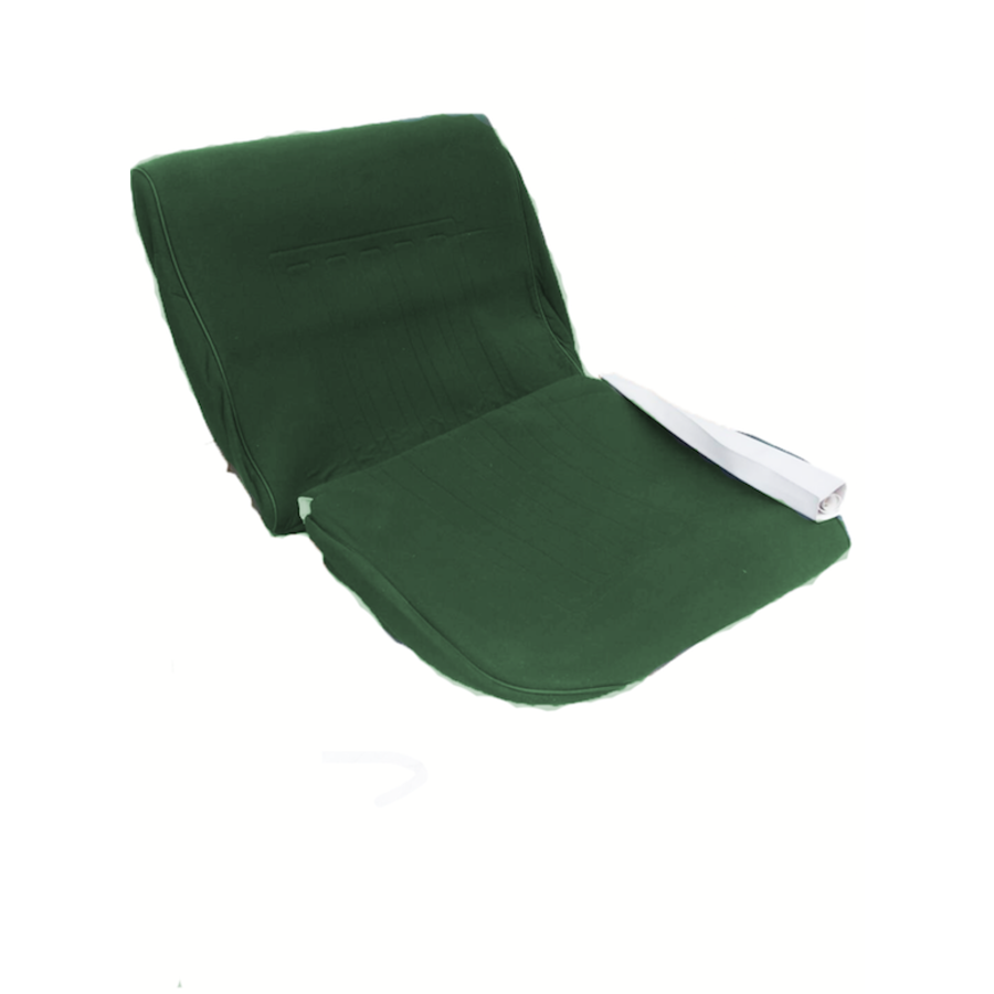 Front seat coveruperpecial green cloth Citroën ID/DS-1