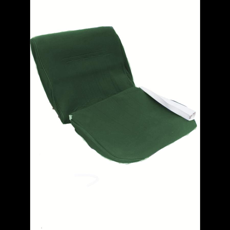 Voorstoelhoes groen stof Dsuper Dspecial Citroën ID/DS-1