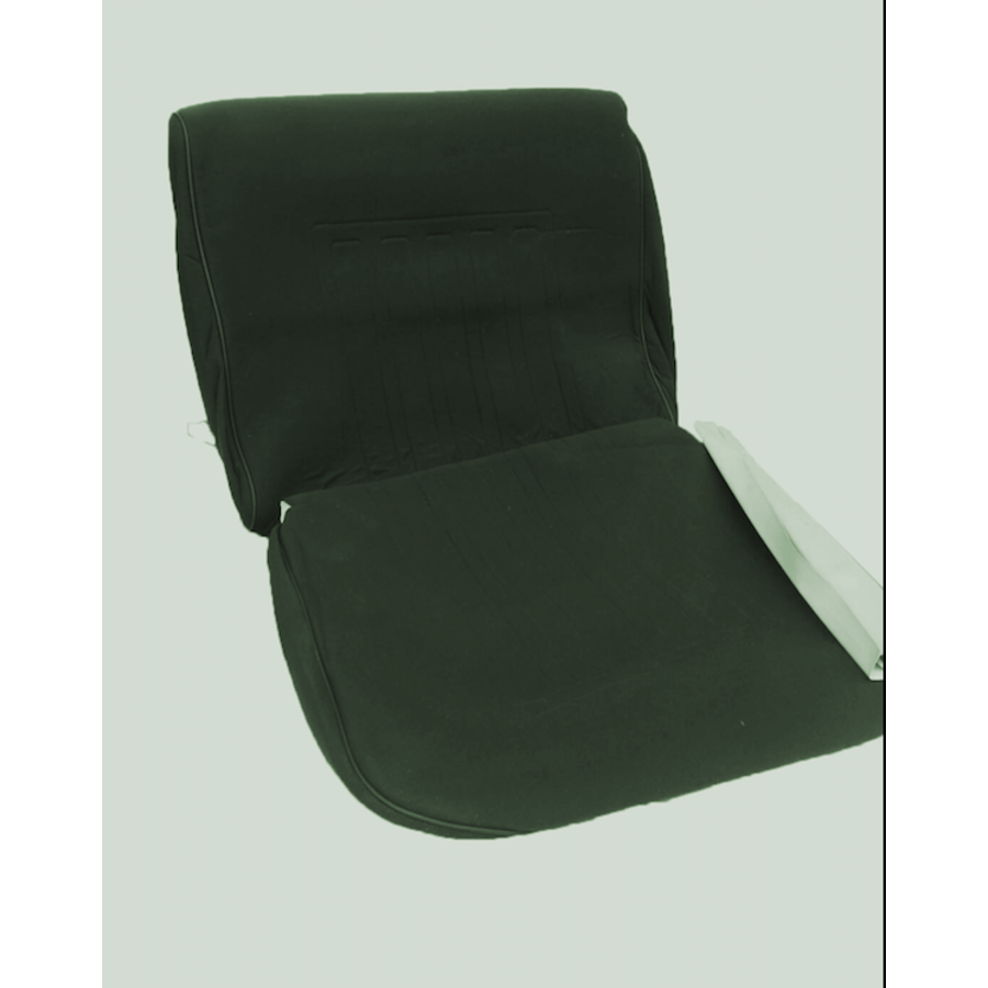 Front seat coveruperpecial green cloth Citroën ID/DS-3