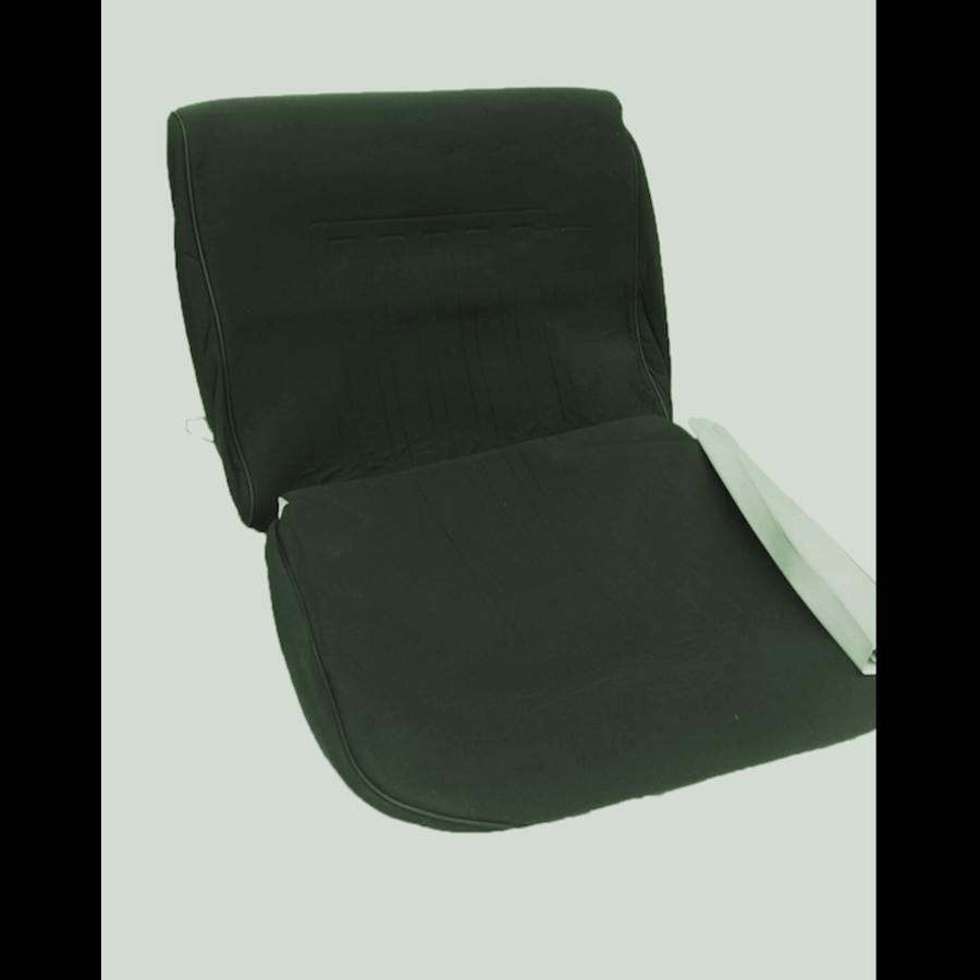 Voorstoelhoes groen stof Dsuper Dspecial Citroën ID/DS-3