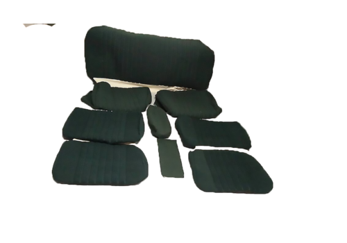 ID/DS Set of seat covers for 1 car pallas 70-73 green cloth Citroën ID/DS