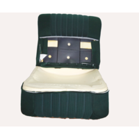 thumb-Front seat half mounted pallas 70-73 green cloth Citroën ID/DS-1