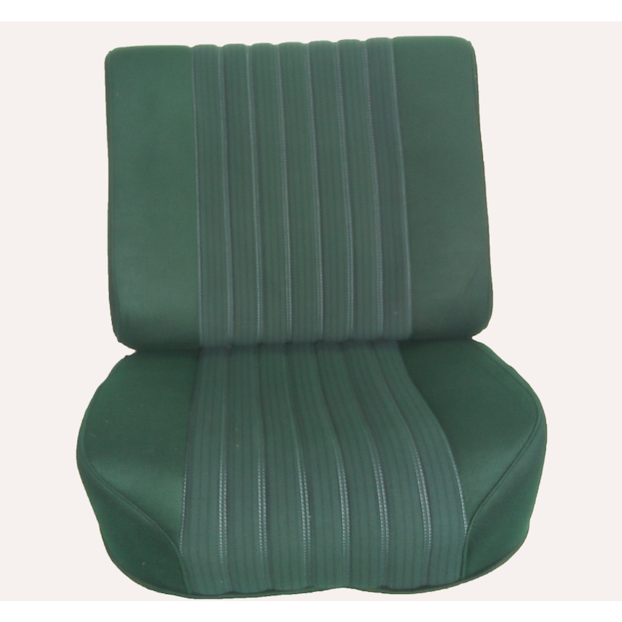 Front seat half mounted pallas 70-73 green cloth Citroën ID/DS-3