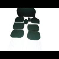 thumb-Bezugsatz (2 Vordersitze+ 1 Hinterbank) Stoff-bezogen grün (1 Farbton) Waffel-Modell Citroën ID/DS-1