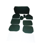 thumb-Set of seat covers for 1 caruperpecial green cloth Citroën ID/DS-1