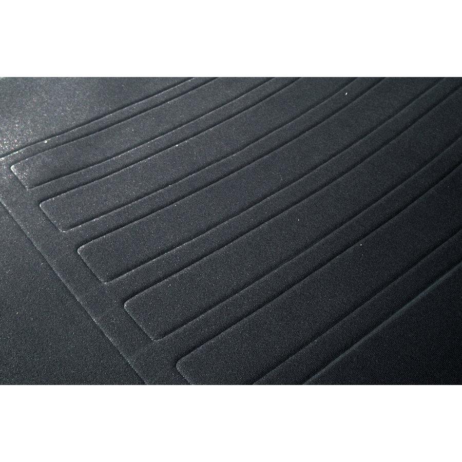 Garniture siège AV en étoffe gris unie pour assise + dossier Panneau de fermeture en simili blanchâtre imprimé gauffre Citroën ID/DS-1