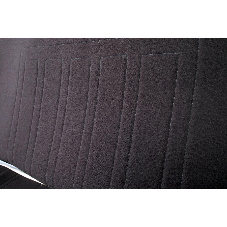 Sitzbezugsatz für Hinterbank Stoff-bezogen grau (1 Farbton): Sitz 1 Teil Rückenlehne 4 Teile Waffel-Modell Citroën ID/DS-1
