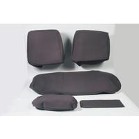 thumb-Sitzbezugsatz für Hinterbank Stoff-bezogen grau (1 Farbton): Sitz 1 Teil Rückenlehne 4 Teile Waffel-Modell Citroën ID/DS-4