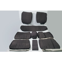 Set of seat covers for 1 car pallas from 69 gray cloth Citroën ID/DS