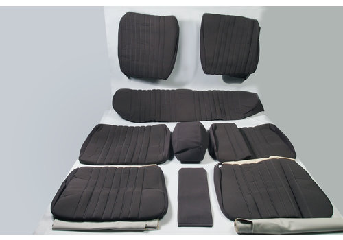 ID/DS Set of seat covers for 1 car pallas from 69 gray cloth Citroën ID/DS