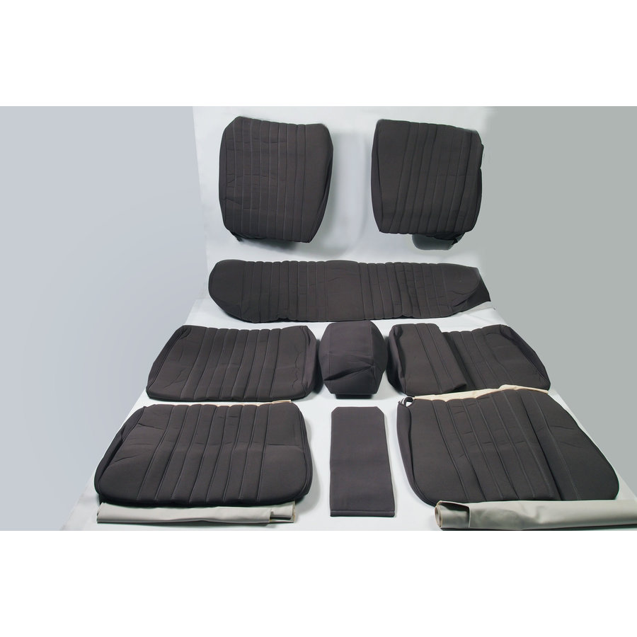 Set of seat covers for 1 car pallas from 69 gray cloth Citroën ID/DS-1