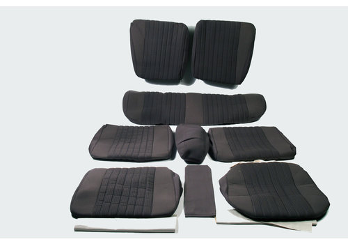 ID/DS Set of seat covers for 1 car pallas 70-73 gray cloth Citroën ID/DS