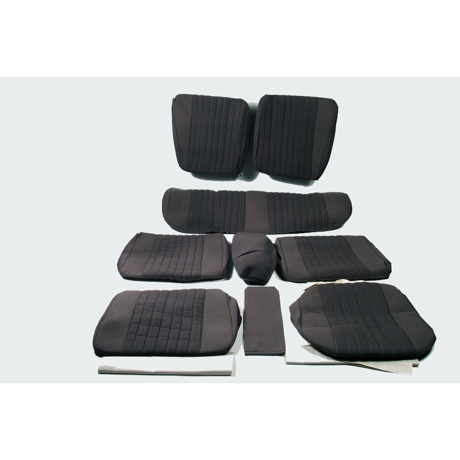 Set of seat covers for 1 car pallas 70-73 gray cloth Citroën ID/DS-1
