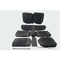 thumb-Set of seat covers for 1 car pallas 70-73 gray cloth Citroën ID/DS-2