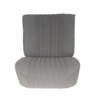 ID/DS Front seat fully mounted pallas 70-73 gray cloth Citroën ID/DS
