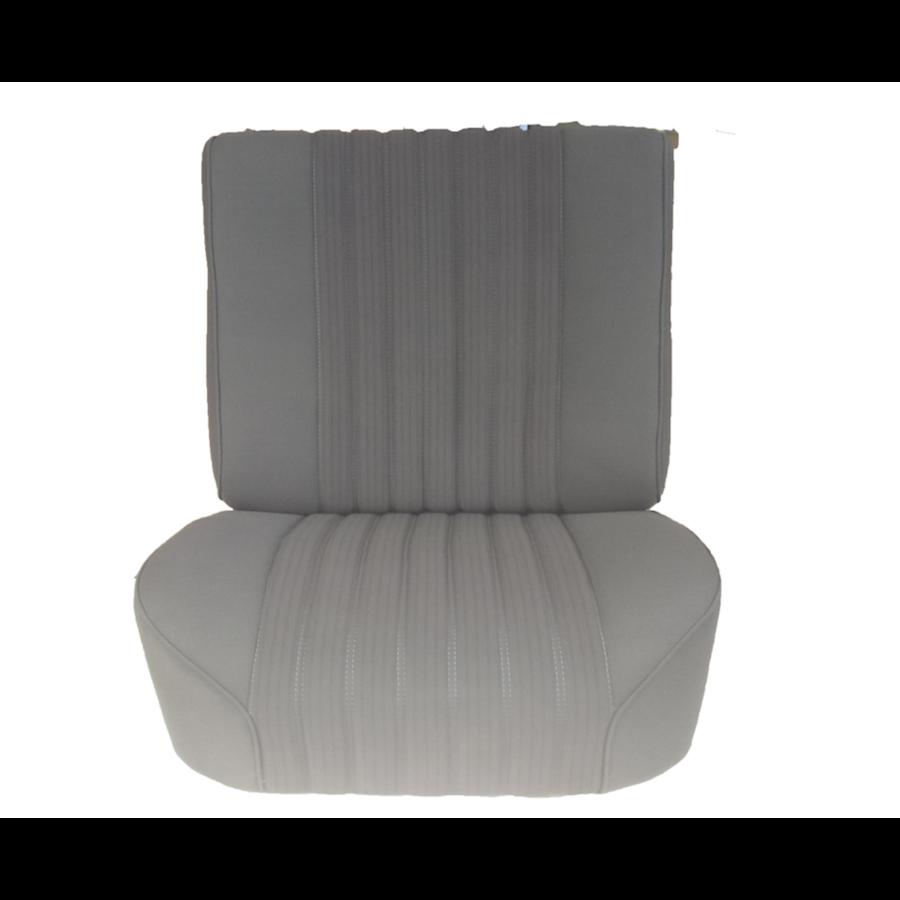 Voorstoelhoes grijs stof gemonteerd Citroën ID/DS-1