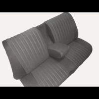 thumb-Achterbankhoes grijs stof gemonteerd Citroën ID/DS-1