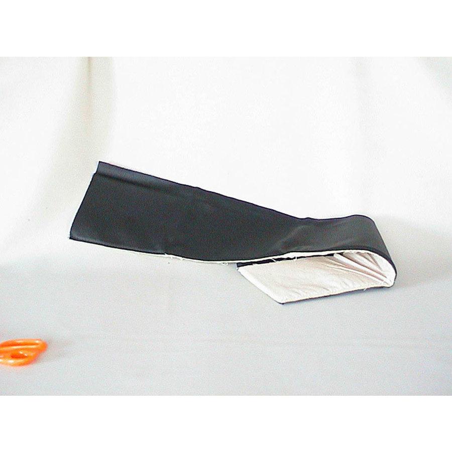 Garniture supérieure de porte (D ou G AV ou AR) cuir noir (PA) Citroën ID/DS-1
