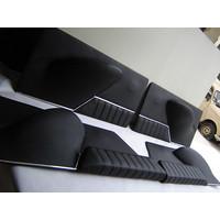 thumb-Jeu de panneaux de porte cuir noir [4](réplique du panneau PA) Citroën ID/DS-1