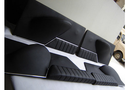 ID/DS 1 Satz Türverkleidungen [4] schwarzes Leder Citroën ID/DS
