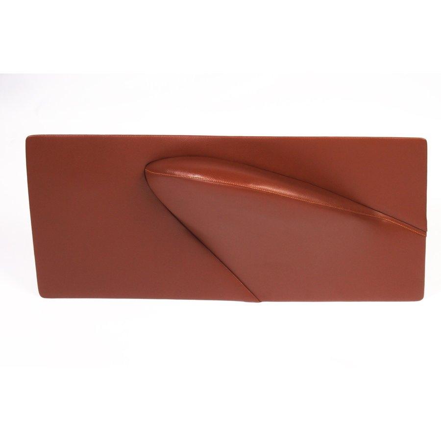 Door card set (not flat) brown leatherette Citroën ID/DS-1