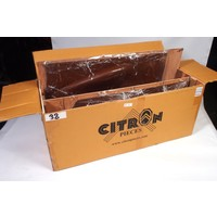 thumb-Door card set (not flat) brown leatherette Citroën ID/DS-3
