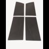 ID/DS 1 Satz Türverkleidungen [4] schwarzes Kunstleder für Modell mit geschraubter Armstütze Citroën ID/DS