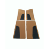 ID/DS Door card set ocher cloth (flat foruperpecial) Citroën ID/DS