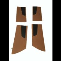 thumb-Door card set ocher cloth (flat foruperpecial) Citroën ID/DS-6