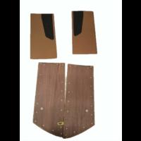 thumb-Door card set ocher cloth (flat foruperpecial) Citroën ID/DS-8