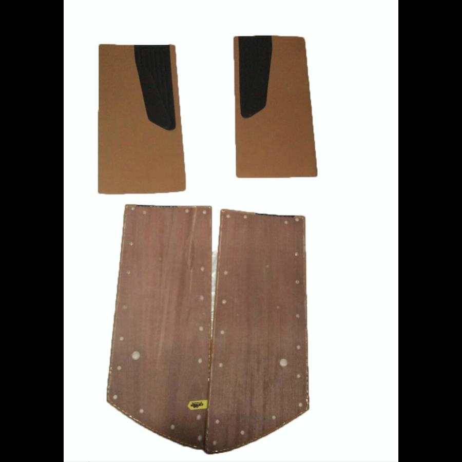 Door card set ocher cloth (flat foruperpecial) Citroën ID/DS-8