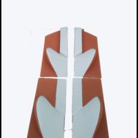 thumb-1 Satz Türverkleidungen [4] Stoff-bezogen ockerfarbig Citroën ID/DS-7