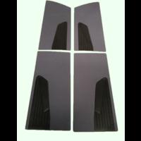 thumb-Door card set gray cloth (flat foruperpecial) Citroën ID/DS-1