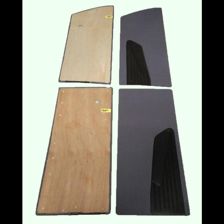 Door card set gray cloth (flat foruperpecial) Citroën ID/DS-4