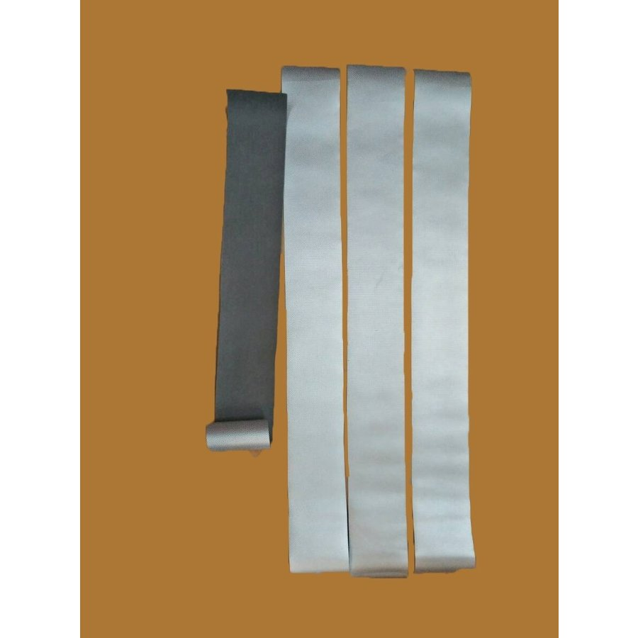 Outside aluminium look a like material (pvc) 4 pieces sidemember Citroën ID/DS-3