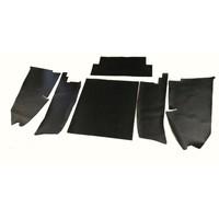 thumb-Jeu [6] complet de garniture de coffre en pvc noir profilé AVec insonorisant Citroën ID/DS-1