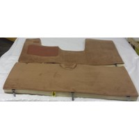thumb-Full carpet set including foam brown Citroën ID/DS-1