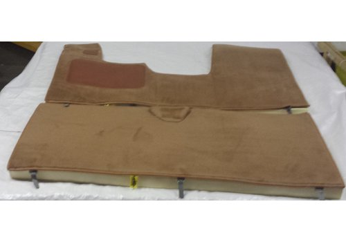 ID/DS Full carpet set including foam brown Citroën ID/DS