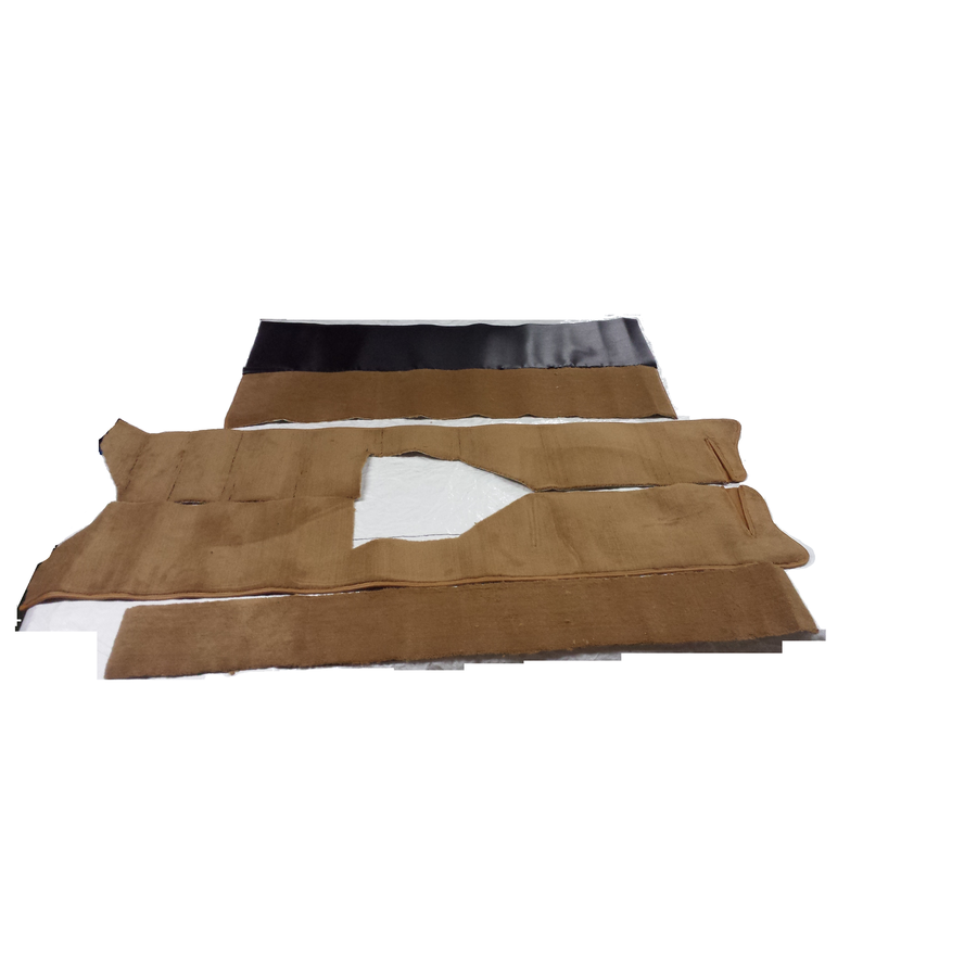 Full carpet set including foam brown Citroën ID/DS-3