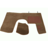 ID/DS Front carpet brown with foam Citroën ID/DS